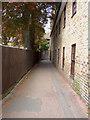 TQ0467 : Church Walk, Chertsey by Alan Hunt