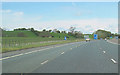 NY4932 : M6 Junction 41 viewed from the south by John Firth