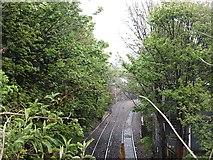 NT2671 : Suburban line by Richard Webb