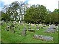 NS9886 : Culross Abbey Kirkyard by kim traynor