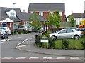 SP1585 : Lychgate Avenue, off The Radleys by Christine Johnstone