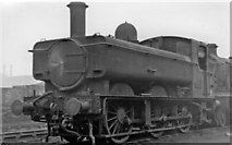 TQ2182 : Auto-fitted 0-6-0 Pannier tank at Old Oak Common Locomotive Depot by Ben Brooksbank