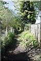 TQ0247 : Footpath by the railway by Bill Nicholls