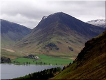 NY2114 : Fleetwith Pike From Above Buttermere by Bikeboy