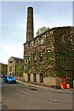 SD9927 : Hebden Bridge Mill by Paul Buckingham