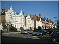 SP3066 : Houses, north side of Heath Terrace by Robin Stott