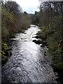 NJ5340 : Looking downstream River Deveron by Stanley Howe