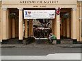 TQ3877 : Greenwich Market by David Dixon