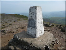 SO2718 : The summit trig point on the Sugar Loaf by Jeremy Bolwell