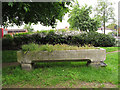 TQ3165 : Cattle trough on Roman Way by Stephen Craven