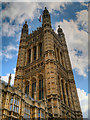 TQ3079 : Palace of Westminster, Victoria Tower by David Dixon