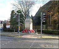 SS8591 : Maesteg War Memorial by Jaggery