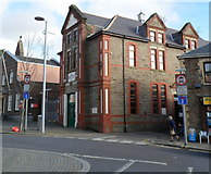 SS8591 : Grade II listed Colonel North Memorial Hall, Maesteg by Jaggery