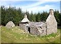 NH5034 : Abandoned house, Easter Cudrish by Craig Wallace