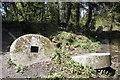 TQ0247 : Couple of Millstones by Bill Nicholls