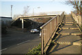 SP3165 : Stepped ramp, Prince's Drive footbridge, east side by Robin Stott