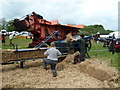 SX9891 : Devon County Show - threshing and baling by Chris Allen
