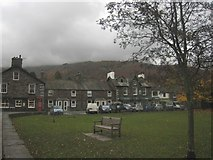 NY3307 : Buildings on College Street, Grasmere by Graham Robson