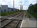 TQ3165 : View from Waddon Marsh Tramlink Stop towards Wimbledon by Marathon