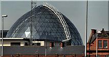 J3474 : The Victoria Square dome, Belfast by Albert Bridge