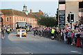 SO8454 : The Olympic Torch in Worcester 1 by Philip Halling