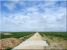 TQ4006 : South Downs Way on Front Hill by Chris Heaton