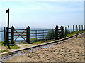 SD6413 : Gate, Belmont Road by David Dixon