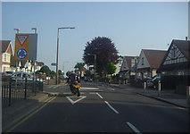 TQ8986 : Hamstel Road at the junction of Poynings Avenue by David Howard