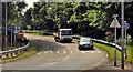 J3479 : Motorway slip road, Greencastle, Belfast by Albert Bridge