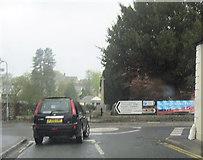 SD6592 : A684 and Main street junction Sedburgh by John Firth