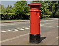J3276 : Victorian pillar box, Belfast by Albert Bridge