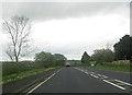 SD5078 : Hale Head Farm from A6 south by John Firth