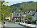 SN9584 : Gorn Road into Llanidloes by Andrew Hill