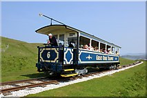 SH7683 : The Great Orme Tramway by Jeff Buck