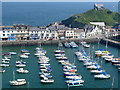 SS5247 : Ilfracombe Harbour by Nigel Mykura