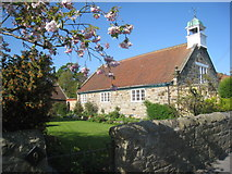 NU1705 : The Village Hall, Newton on the Moor by Jonathan Thacker