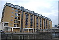 TQ3680 : Hilton Docklands Hotel, Nelson Docks by N Chadwick