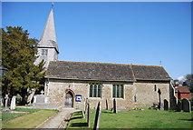 TQ1328 : Parish Church of St Nicholas by N Chadwick