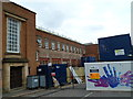 SO9490 : Nearly the end for the former Dudley Fire Station by Jaggery