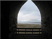 NU1341 : View from a limekiln near Lindisfarne Castle by Jonathan Thacker