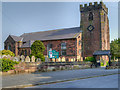 SJ4782 : St Mary's Church, Hale by David Dixon