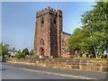 SJ4782 : The Church of St Mary, Hale by David Dixon