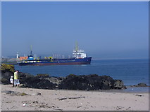 NJ9605 : Dredging in Aberdeen by Peter Robinson