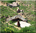 TG2938 : Pillbox remains at Little Marl Point by Evelyn Simak