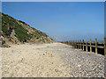 TG2938 : Crumbling cliffs at Trimingham beach by Evelyn Simak