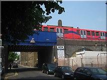 TQ3581 : Railway Bridge on Pitsea Street, Stepney by David Anstiss