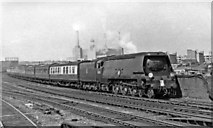 TQ2976 : Down Continental Boat express from Victoria at Factory Junction by Ben Brooksbank