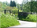 SK0349 : Entrance to Ipstones Park Farm by Christine Johnstone