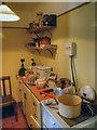 SJ4077 : Porter's Row - Kitchen by David Dixon