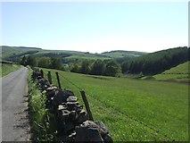SJ9775 : View towards Lamaload Reservoir by John M